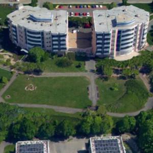 Janovská letecký pohled