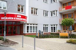 Domov u Vršovického nádraží, Praha 10, vstup