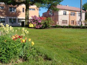 Domov pro seniory, Rokytnice, zahrada
