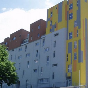 Hezké domy budova